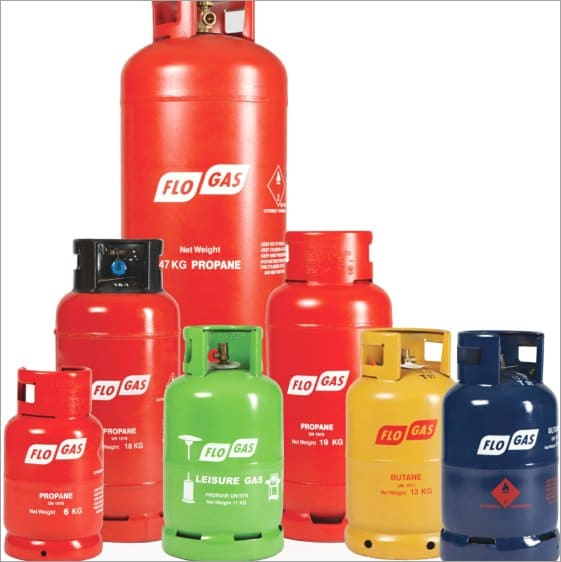 Flo-Gas propane cylinders